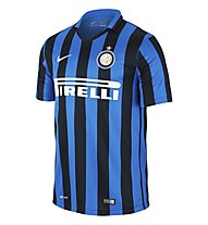 Nike 2015 Inter Mailand Stadium Home - Fußballtrikot, Black/R. Blue/F. White
