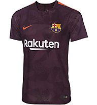 Nike 2017/18 Barcelona 3rd - Fußballtrikot - Kinder, Dark Red