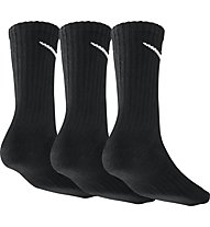 Nike 3PPK Value Cotton Crew (3 pairs) - calzini sportivi uomo 3 paia, Black/White