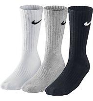 Nike 3PPK Value Cotton Crew, White/Grey/Black