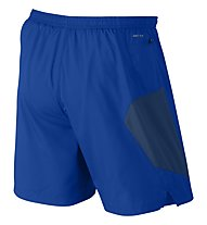 "Nike 7"" Pursuit 2-in-1 Short - Kurze Laufhose Herren, Blue"