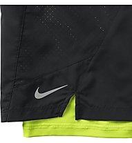 "Nike 7"" Pursuit 2-in-1 Short - Kurze Laufhose Herren, Black"