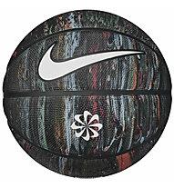 Nike 8P Revival - pallone da basket, Black/Yellow/Green