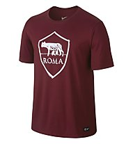 Nike A.S. Roma Crest T-shirt calcio, Red