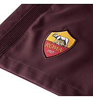 Nike A.S. Rom Stadium Home/Away/Third Shorts - kurze Fußballhose Herren, Night Maroon/Kumquat