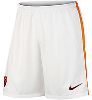 Nike A.S. Roma Home/Away Stadium 2015/16 - pantaloncini da calcio, F. White/Kumquat/T. Red
