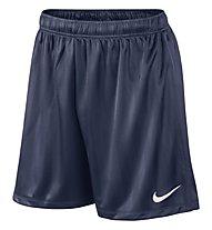 Nike Academy Jacquard - Fußballhose kurz, Midnight Navy/White