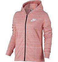 Nike Advance 15 - Kapuzenjacke - Damen, Rose