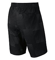 Nike Advance 15 Trainingsshorts Männer, Black/Metallic Silver