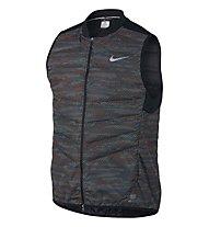 Nike Aeroloft Flash Laufweste, Black/Reflective Silver