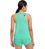 Nike AeroSwift - Runningshirt ärmellos - donna, Green