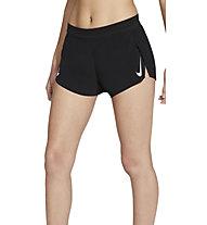 Nike Aeroswift W Running - pantaloni corti running - donna, Black