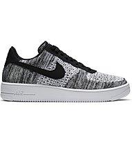 Nike Air Force 1 Flyknit 2.0 - Sneaker - Herren, Black/Grey