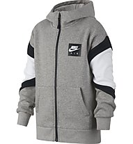 Nike Air - Kapuzenjacke - Kinder, Grey