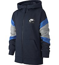 Nike Air - Kapuzenjacke - Kinder, Blue