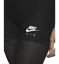 Nike Air 7/8 Mesh Running Tights - Laufhose - Damen, Black/White