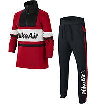 Nike Air - tuta sportiva - bambino, Red/Blue