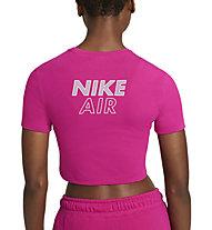 Nike Air Crop - T-shirt - Damen, Pink