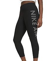 Nike Air Epic Fast 7/8-Length Running - pantaloni running - donna, Black