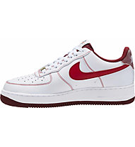 Nike Air Force 1 '07 - sneakers - uomo, White/Red