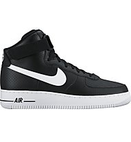 Nike Air Force 1 High '07 Sneaker im Basketballstil, Black/White