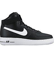 Nike Air Force 1 High '07 - scarpe da ginnastica - uomo, Black/White