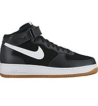 Nike Air Force 1 Mid '07 Sneaker, Black/White