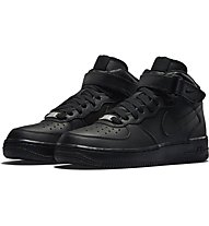 Nike Air Force 1 Mid (GS) - Basketballschuh Kinder, Black
