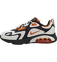 Nike Air Max 200 - Sneakers - Herren, White/Orange/Black