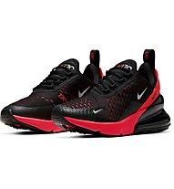 Nike Air Max 270 - sneakers - bambino, Black/Red