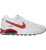 Nike Air Max Command Turnschuh/Sneaker Herren, White/Red