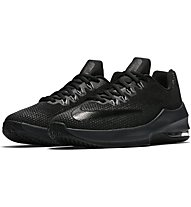 Nike Air Max Infuriate (GS) - Basket- und Trainingsschuh, Black