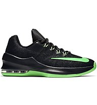Nike Air Max Infuriate (GS) - Basket- und Trainingsschuh, Black/Green