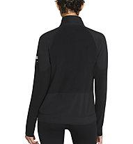 Nike Air Midlayer W Running Top - Langarmshirt - Damen, Black