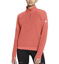 Nike Air Midlayer W Running Top - Langarmshirt - Damen, Orange