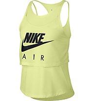 Nike Air Gx - top running - donna, Yellow