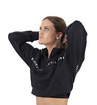 Nike Air Women's 1/2-Zip Top - Pullover - Damen, Black