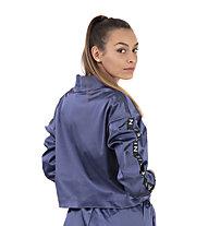 Nike Air Women's Satin Track - Trainingsjacke - Damen, Blue