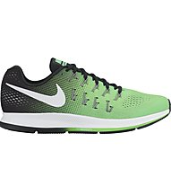 Nike Air Zoom Pegasus 33 - scarpa running, Green