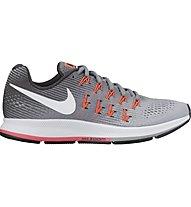Nike Air Zoom Pegasus 33 W - scarpe running - donna, Grey
