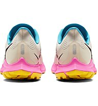 Nike Air Zoom Pegasus 36 Trail - scarpe trail running - donna, White/Pink/Light Blue
