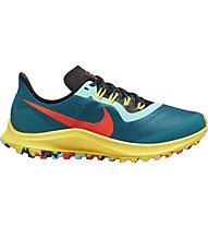 Nike Air Zoom Pegasus 36 Trail - Laufschuhe Trailrunning - Damen, Light Blue