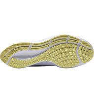 Nike Air Zoom Pegasus 37 - neutrale Laufschuhe - Damen, White/Yellow