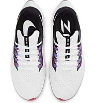 Nike Air Zoom Pegasus 38 - Runningschuh neutral - Damen, White, Black