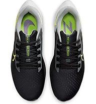 Nike Air Zoom Pegasus 38 - scarpa running neutra - uomo, Black, Grey