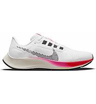 Nike Air Zoom Pegasus 38 - Neutrallaufschuhe - Herren, White/Red