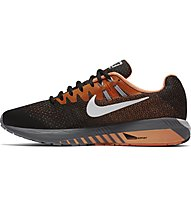 Nike Air Zoom Structure 20 - Laufschuhe - Herren, Black/Orange