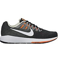 Nike Air Zoom Structure 20 - Neutrallaufschuh - Herren, Black/White