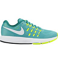 Nike Air Zoom Vomero 11 Neutral Running Laufschuh Damen, Turquoise/Yellow
