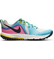 Nike Air Zoom Wildhorse 5 - Laufschuhe Trailrunning - Damen, Light Blue/Pink